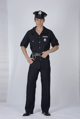 Men's Usa Policeman Costume (Uk Policeman Costume)