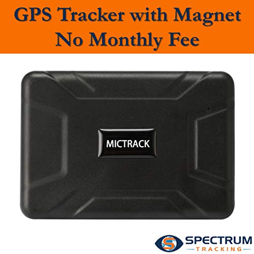 Spectrum GPS Tracker - no Monthly Fee -Track Location | Speed - Alerts, Geo-Fence - Teen Car Tracker - Fleet Tracking
