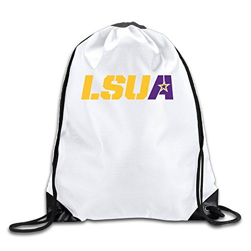 Louisiana State University At Alexandria2 Lightweight Drawstring Bags Backpack White Size One Size