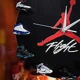 """12"""" Jordan Shoe Clock - Air Jordan 3D Sneaker Clock"""
