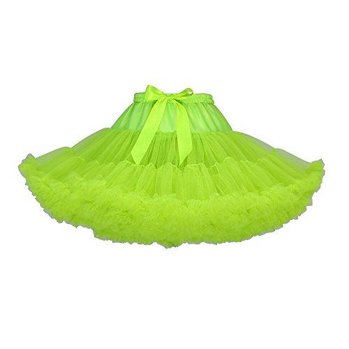 Vert Petticoat Pliss Crinoline Tulle Princesse Jupon Annes Rockabilly KVbaby 50s en sous Robe Tutu Bouffe Femme Princesse wB0gOqa