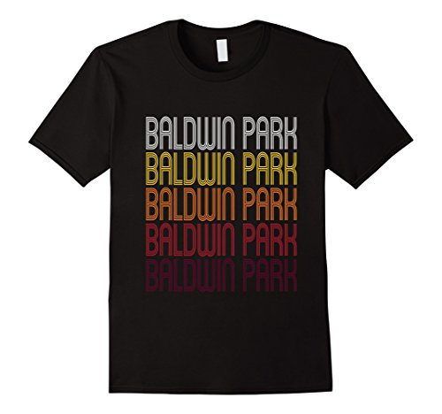 Men's Baldwin Park, CA | Vintage Style California T-shirt 2XL Black