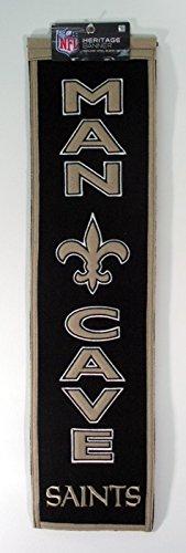Winning Streak NFL New Orleans Saints Man Cave Banner ()