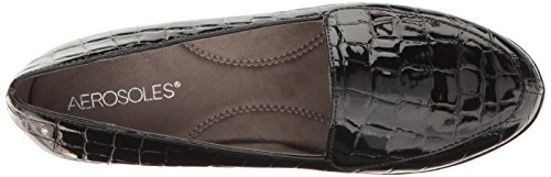 Aerosoles True Women's On Loafer Crocodile Match Slip Black ppRq5