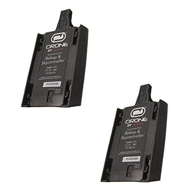 Venom 1600mAh 11.1V LiPo Battery for Parrot Bebop and Skycontroller x2 packs from Venom Group International