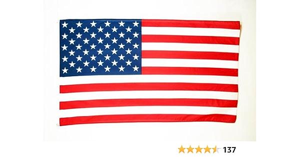 AZ FLAG Bandera de los Estados Unidos 90x60cm - Bandera Americana - USA - EE.UU 60 x 90 cm: Amazon.es: Jardín