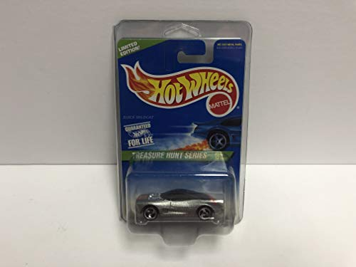 - BUICK WILDCAT Hot Wheels 1997 Mattel TREASURE HUNT SERIES Limited Edition diecast 9/12 with protector case