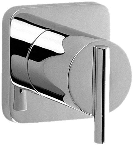 (Jado 831172.150 Glance Wall Valve Trim, Platinum Nickel)