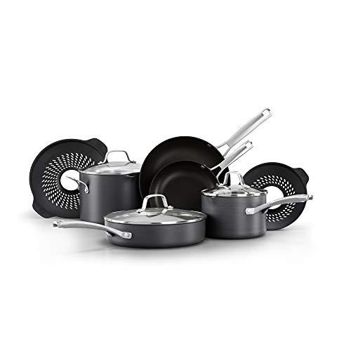 Top 10 best calphalon nonstick cookware 14 piece: Which is the best one in 2020?