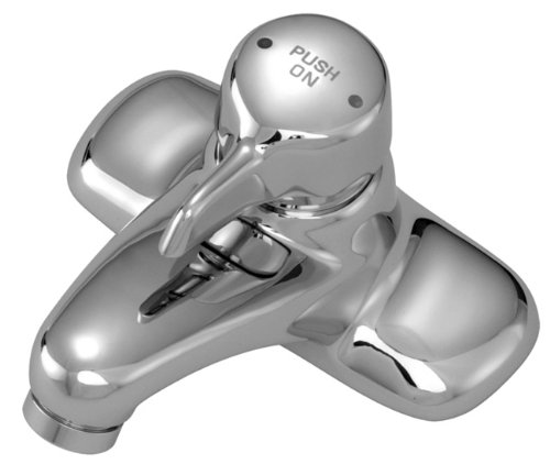 Symmons S-60-H Scot Metering Faucet with Temperature Selection, Chrome ()