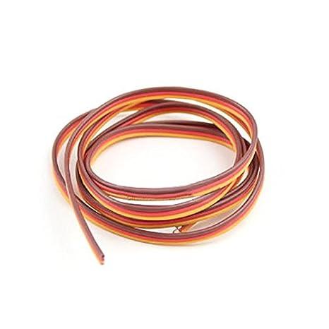 C/âble Parall/èle LaDicha 5M 60 Noyaux Servo C/âble De Rallonge Dupont Cable C/âble Parall/èle Twist Cable Optionnel