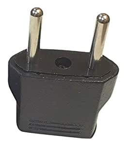 Ckitze USA to Europe Round Travel Plug Adapter