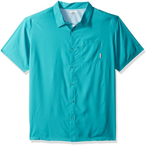 Columbia Men's Slack Tide Camp Shirt, Miami, Large