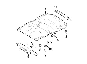 Ford Oem Coat Hook Fl1z7829024ab Image 5 by Ford