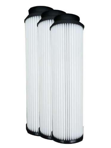 ((3) 40140201 Hoover WindTunnel, EmPower & Savvy Bagles Upright Pleated HEPA Vacuum filter, Twin Chamber System, Bagged & Bagless, Upright, Anniversary, Reconditioned, Self Propelled Vacuum Cleaners, 40130050, 43615-090)