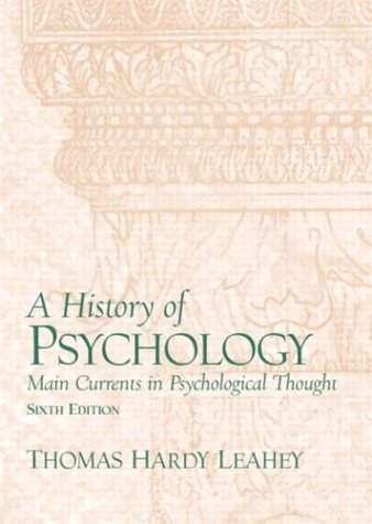 A History of Psychology 6ed: From Antiquity to Modernity