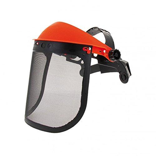 Protección facial desbrozadora de pantalla de rejilla: Amazon.es ...