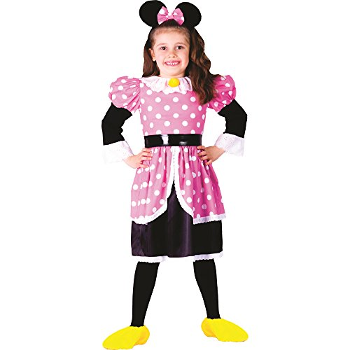 [Ms. Mouse Costume - Size Toddler 4] (Minni Mouse Costumes)