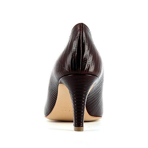 Evita Shoes Bianca Escarpins Femme Cuir gaufré Bordeaux xVIfkb