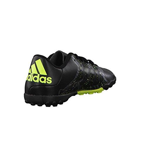 adidas X 15.4 TF J - Botas Para Niño Negro / Gris / Lima