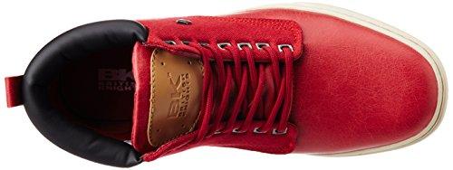 British Knights Wood - zapatillas deportivas altas de material sintético hombre Rojo