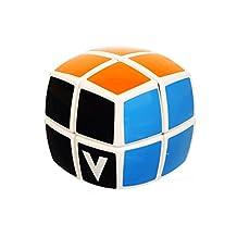 V-Cube Pillowed 2 vCube2b Toy White/Multicolor Puzzle 3D
