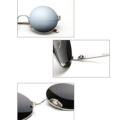 Gafas 1 4 polarizadas Color Femeninas DT Sol de Coreanas Sol Gafas de Delgadas Gafas Sdxpwqg