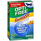 PACK OF 3 EACH OPTI-FREE REPLENISH TRAVEL PAK 4OZ PT#65035635