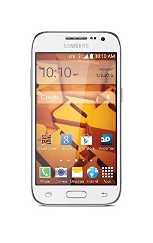 Samsung Galaxy Prevail White Mobile