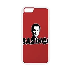 iPhone 6 Plus 5.5 Inch Cell Phone Case White Bazinga 2 GY9206731