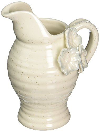 Antique White Gravy (Grasslands Road Potters Wheel Pitcher, 14 Oz. (White))