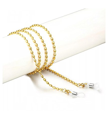 CROISSANT Fashion Retro Glasses Chain Beaded Glasses Sunglasses Chain Glasses Retainer Strap For Womens【Gift Packaging】