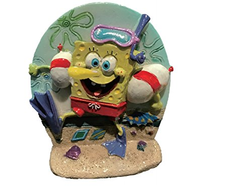 Penn-Plax Spongebob Aerating Ornament for Aquarium from Penn Plax