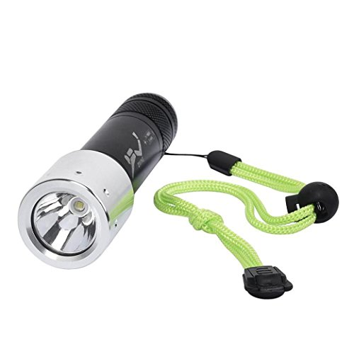 UPLOTER Diving Light 8000 LM XML T6 LED Underwater 50M Waterproof 18650/AAA Battery by UPLOTER
