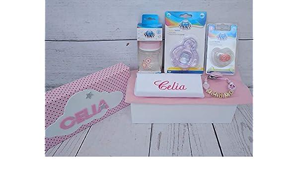 Set Regalo Bebé - Canastilla personalizada para niño o niña ...