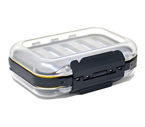 Outdoor Planet Double-Side Waterproof Fly Box Slit Foam Fly Fishing Box
