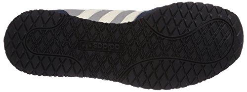 adidas Originals Adistar Racer - Zapatillas de cuero para hombre gris - Grau (Mgh Solid Grey/Cream White/Core Black)