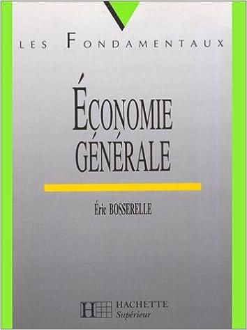 Téléchargement gratuit de livres torrents Économie générale PDF iBook PDB by Eric Bosserelle 2011450748