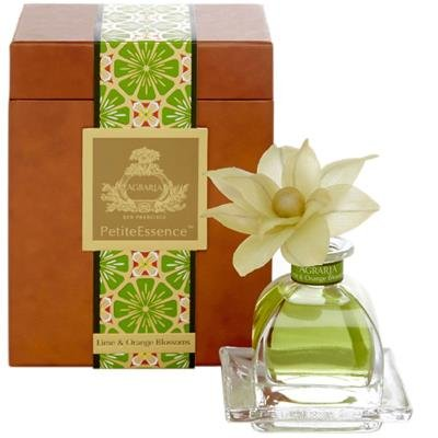 LIME & ORANGE AGRARIA FLOWER PETITTE Essence Diffuser by Agraria San Francisco