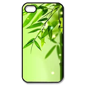 Cool Painting Bamboo New Fashion DIY Phone Case for Iphone 4,4S,customized cover case case-335106