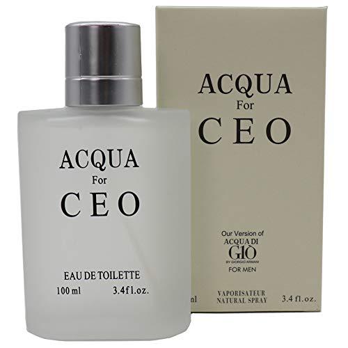 Alternative to ACQUA DI GIO by GIORGIO ARMANI, Bouquet of Perfume, Eau de Toilette Spray for Men, Perfect Gift, Mediterranean Freshness, 3.4 Fl Oz from Bouquet of Perfume