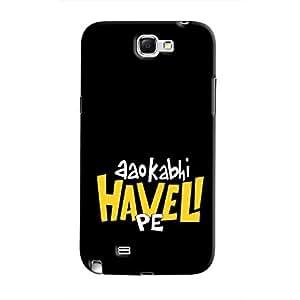 Cover It Up - Aao Kabhi Haveli Pe Galaxy Note 2 N7100 Hard Case