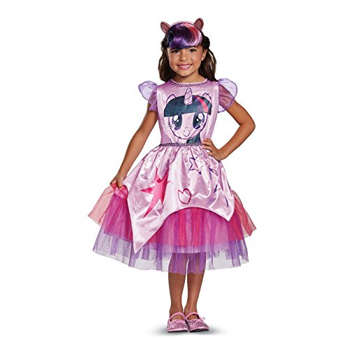 Twilight Sparkle Movie Classic Costume, Purple, Medium (7-8)