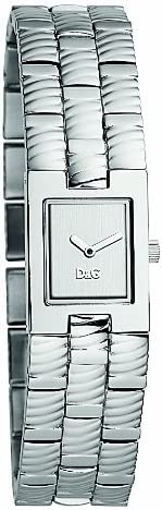 Dolce & Gabbana na Saddle DW0553 - Reloj de Mujer, Correa de Acero Inoxidable Color Plata