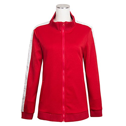 E-Mell Unisex Kagerou Project Cosplay Kisaragi Shintaro Costume Sportswear (Large, Red)