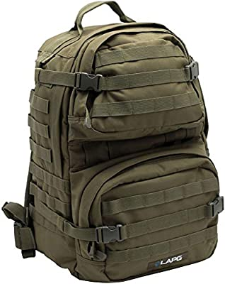 LA Police Gear 3 Day Tactical Backpack for Hunting, Military, Camping, Hiking, and Survival
