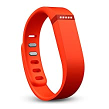 Fitbit Flex Wireless Activity Plus Sleep Wristband, Tangerine