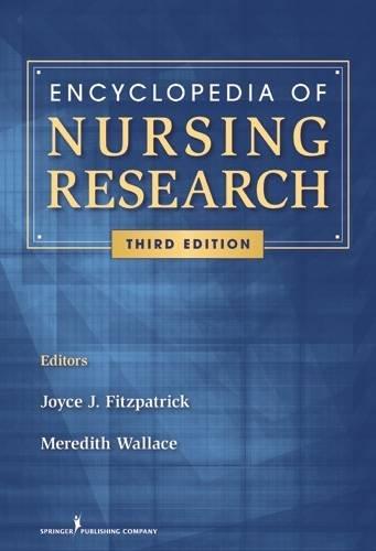 Encyclopedia of Nursing Research (Fitzpatrick, Encyclopedia of Nursing Reserach)