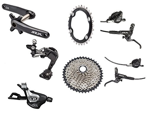 Shimano SLX M7000 Complete Group 11-Speed 11-46T Cassette with Brakes (175mm/Boost)