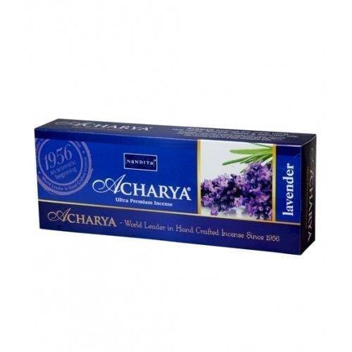 Nandita Acharya LAVENDER Ultra Premium Incense Sticks 50g Boxes (12)